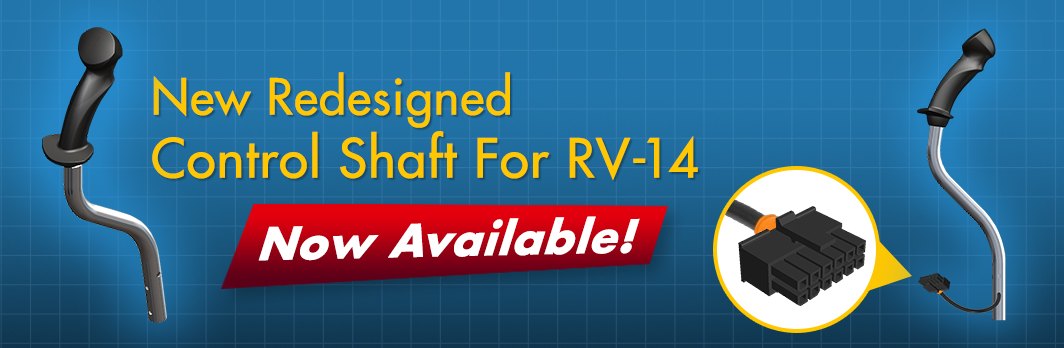 Coming Soon! Newly Redesigned Control Shaft For RV-14